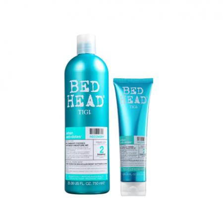 TIGI Bed Head Urban Anti+Dotes 2 Recovery - Shampoo 750ml+Condicionador 200ml