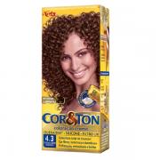 Tintura Cor&ton 4,3 Castanho Medio Dourado