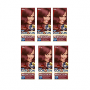 Tintura Cor&ton 5.546 Vermelho Amora Caixa com 6