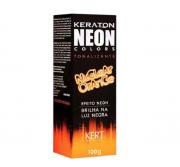 Tonalizante Keraton Neon Colors Nuclear Orange 100g