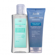 Tracta Antiacne - Sabonete Liquido 150ml+Sabonete Esfoliante Facial Limpeza Profunda e Refrescante 100ml