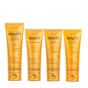 Trivitt Shampoo Pós-Quimica 280ml+Condicionador+Leave-in 250ml+Hidratação Intensiva 250g