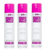 Vital Care Hair Spray Mega Freeze 24 Hour Hold 283g C/3