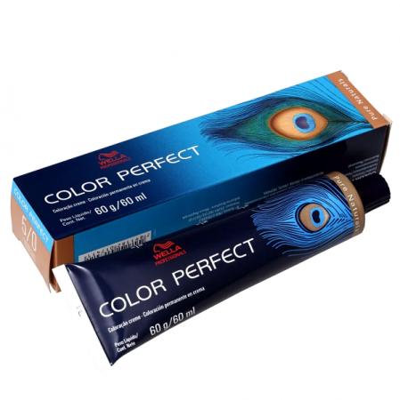 Wella Color Perfect 5.0 Castanho Claro - Coloração Permanente 60g