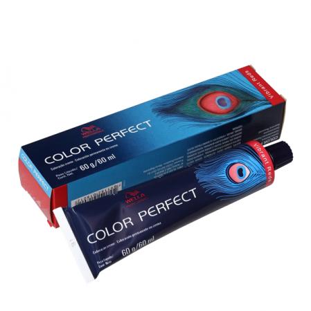 Wella Color Perfect 6.45 Louro Escuro Vermelho Acaju - Coloração Permanente 60ml
