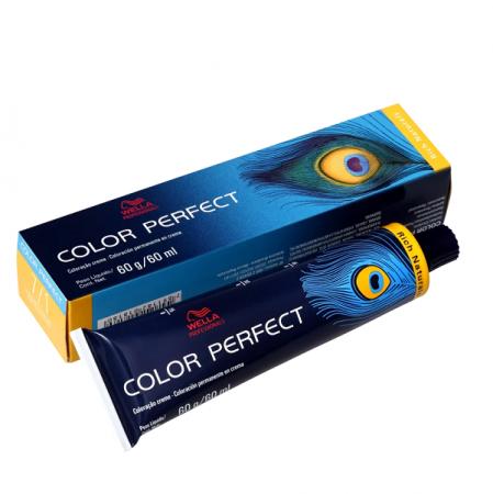 Wella Color Perfect 7.1 Louro Médio Acinzentado - Coloração Permanente 60g