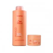 Wella Professional Invigo Nutri Enrich Shampoo 1l+Máscara 150ml