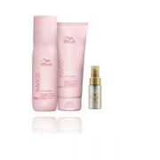 Wella Professionals Blonde Recharge- Shampoo 250ml+Condicionador 200ml+Oil Reflections Light 30ml