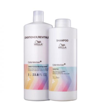 Wella Professionals Color Motion+ - Shampoo+Condicionador 1L