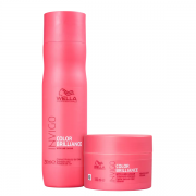 Wella Professionals Invigo Color Brilliance Shampoo 250ml+Mascara 150ml