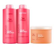 Wella Professionals Invigo Color Brilliance shampoo+condicionador 1L+ Masc Nutri-Enrich 500g