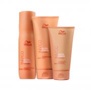 Wella Professionals Invigo Nutri-Enrich Shampoo 250ml+Condicionador 200ml+Leave-in Antifrizz 150ml