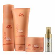 Wella Professionals Invigo Nutri-Enrich Shampoo 250ml+Condicionador 200ml+Mascara 150ml+Oil Reflections Light 30ml