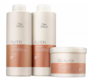 Wella Professionals Kit Fusion Salon Trio (3 Produtos) Grande