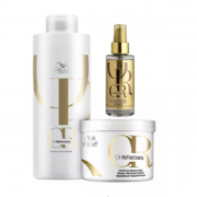 Wella Professionals Oil Reflections Shampoo 1L+Mascara 500g+Oil 100ml