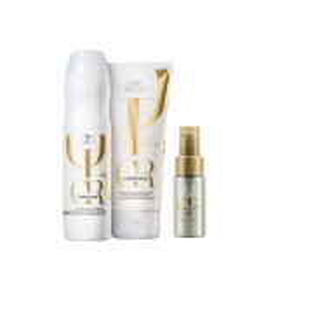 Wella Professionals Oil Reflections Shampoo 250ml+Condicionador200ml+Oil Reflections Ligth 30ml