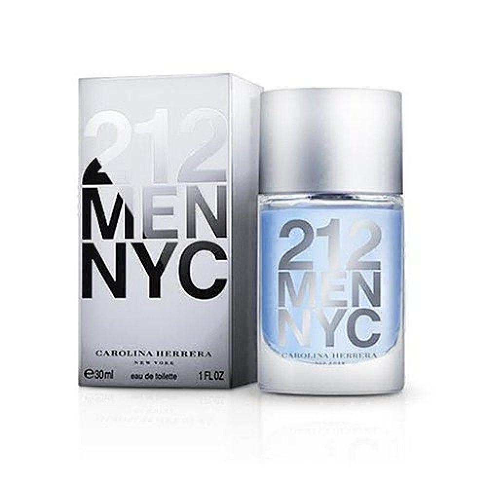 212 Men NYC Carolina Herrera Eau de Toilette - Perfume Masculino 30ml