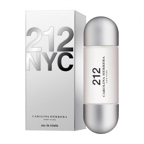 212 NYC CAROLINA HERRERA EAU DE TOILETTE PERFUME FEMININO 30ml
