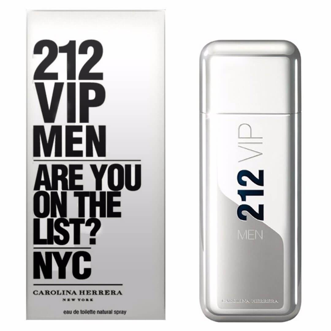 212 VIP Men Carolina Herrera Eau de Toilette - Perfume Masculino 50ml