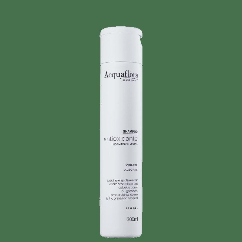 Acquaflora Antioxidante Normais ou Mistos - Shampoo Desamarelador 300ml