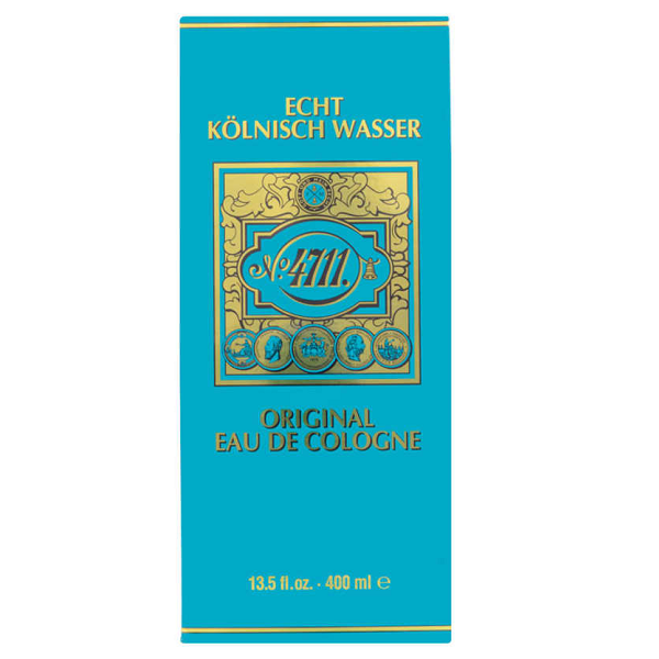 Agua de Colônia 4711 Unissex Eau de Cologne 400ML