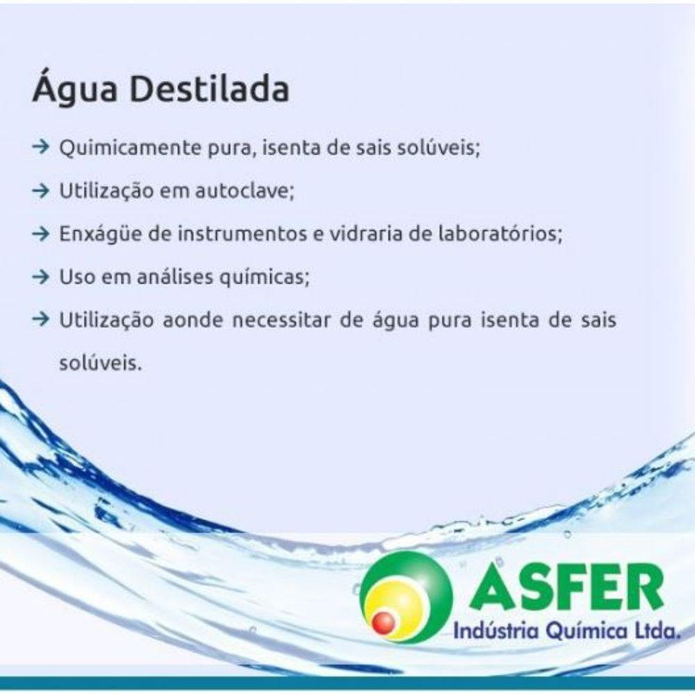 Água Destilada 5L - Asfer