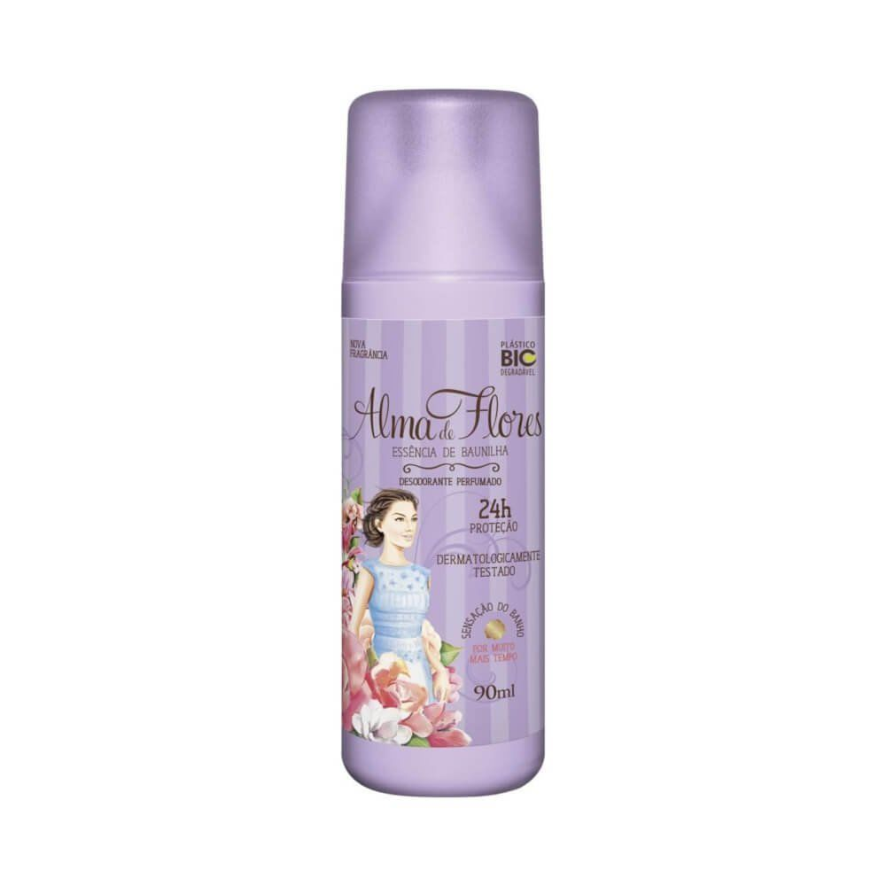 Alma De Flores Baunilha Desodorante Spray 90ml