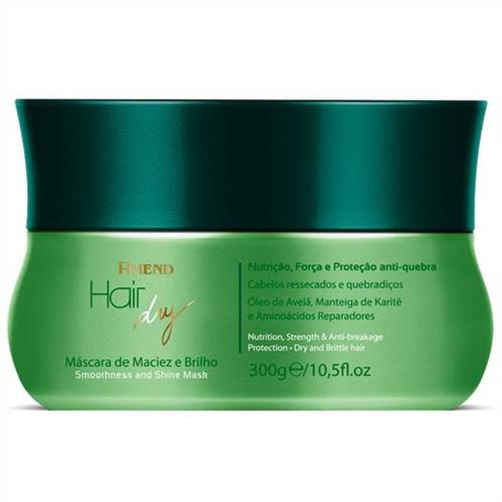Amend Hair Dry Máscara De Maciez E Brilho 300g