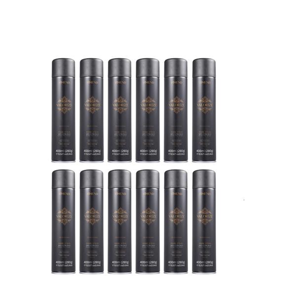 Amend Valorize Hair Spray Profissional Ultra-forte 400ml 12 Unidades