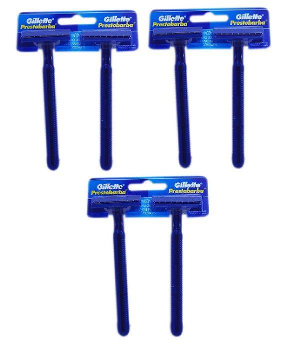 Aparelho de Barbear Gillette Prestobarba 2un Descartável - 3 Unidades