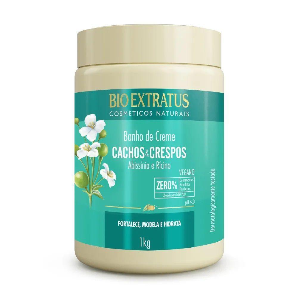 Banho de Creme Bio Extratus Cachos e Crespos 1 Kg