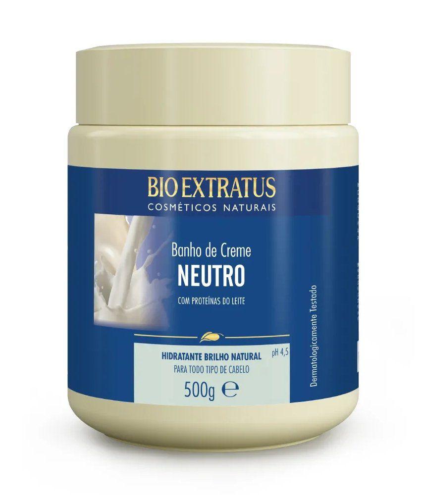 Banho de Creme Neutro Com Proteínas do Leite 500g - Bio extratus