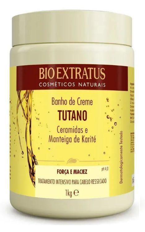 Banho De Creme Tutano Ceramidas E Karité Bio Extratus 1 Kg