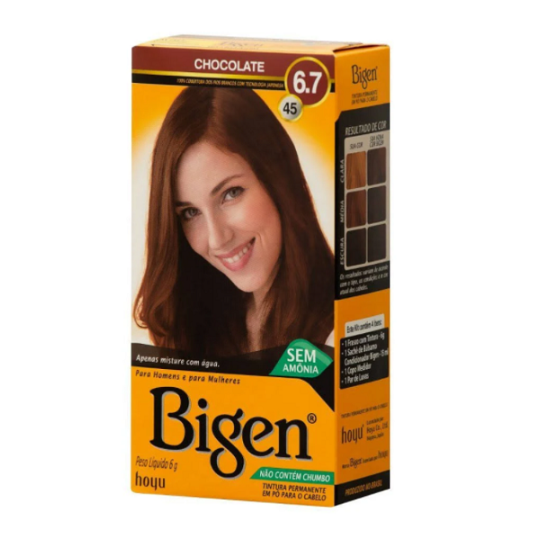 Bigen Chocolate 6.7