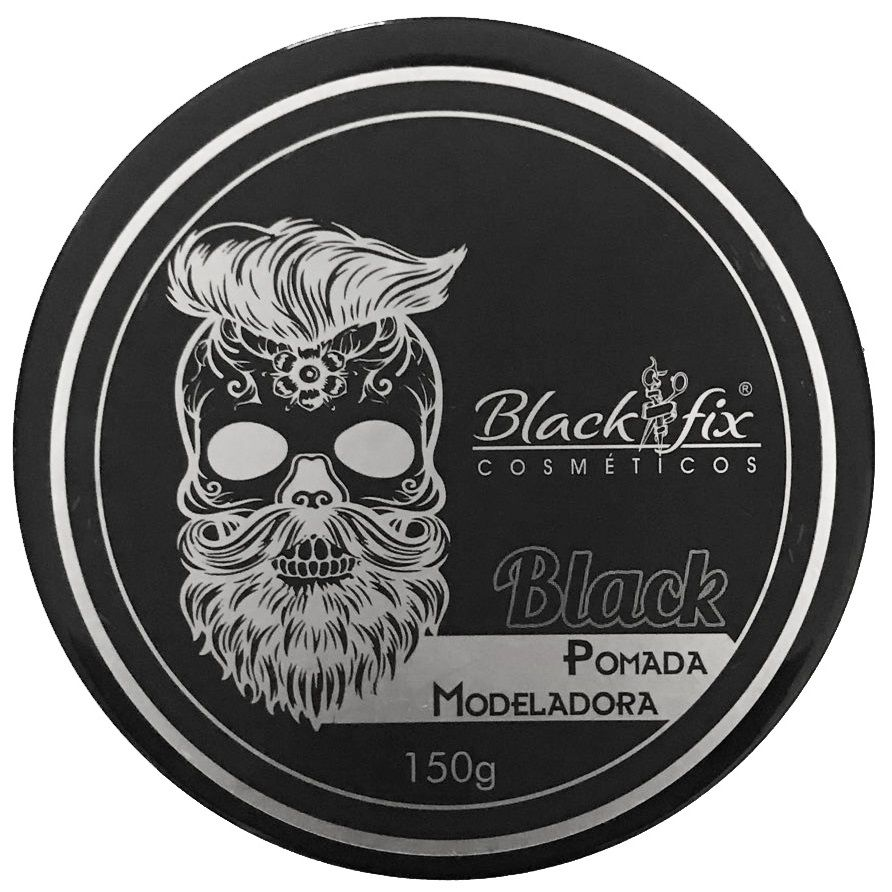 Black Fix Soft Pomada Modeladora Black 150g 6 Unidades