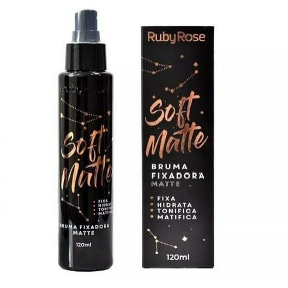 Bruma Fixadora Soft Matte Ruby Rose 120ml