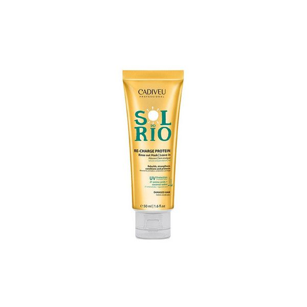 Cadiveu Professional Leave-in Sol do Rio Máscara Reconstrutora - 50ml