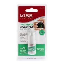 Cola Secagem Rápida First Kiss - Cola de Unha - 3g