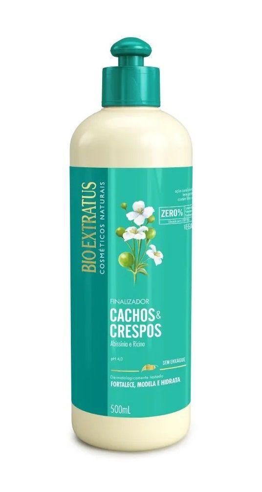 Kit Bio Extratus Cachos e Crespos ( 4 Unidades )