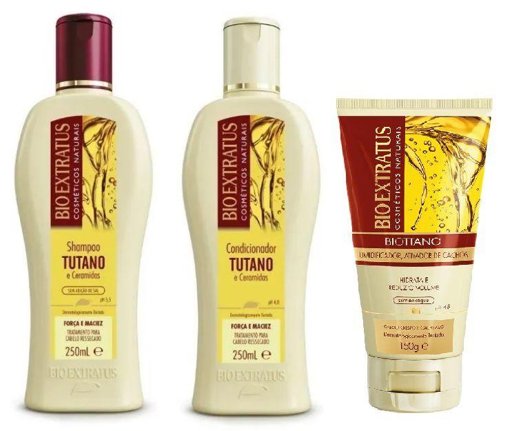 Kit Bio Extratus Tutano e Cerâmidas 250ml ( 3 Produtos )