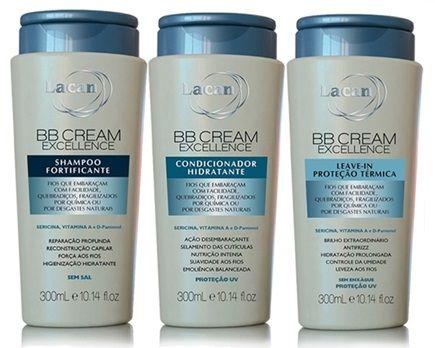 Kit Lacan BB Cream Excellence 3 Produtos