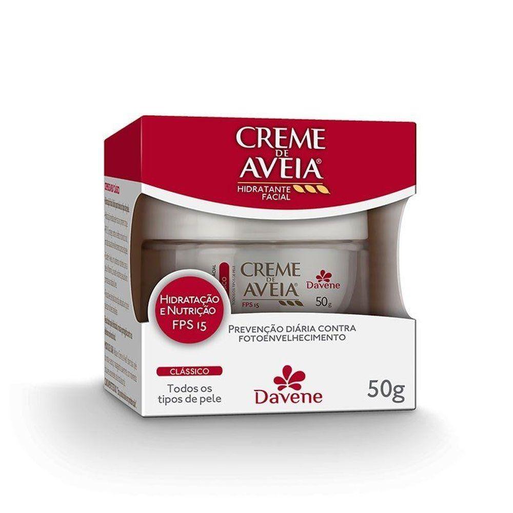Creme Aveia Davene Clássico 50g