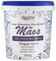 Creme Hidratante Mãos Profissional Kelma 950g