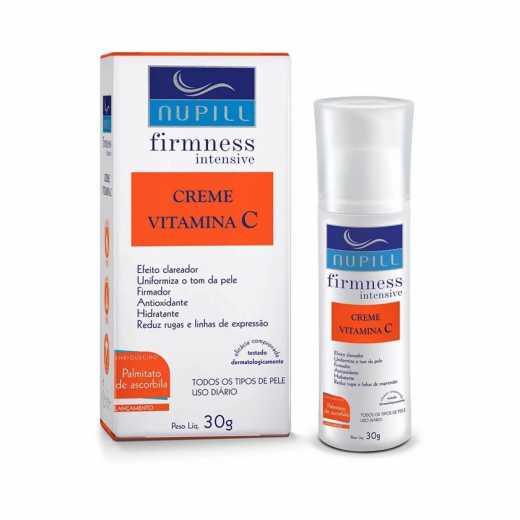 Creme Vitamina C Nupill - Firmness Intensive 30g