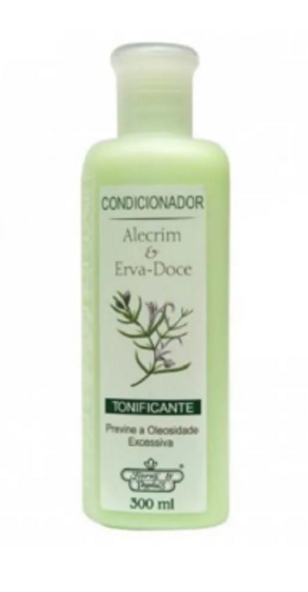 Flores & Vegetais Alecrim E Erva Doce Condicionador 300ml