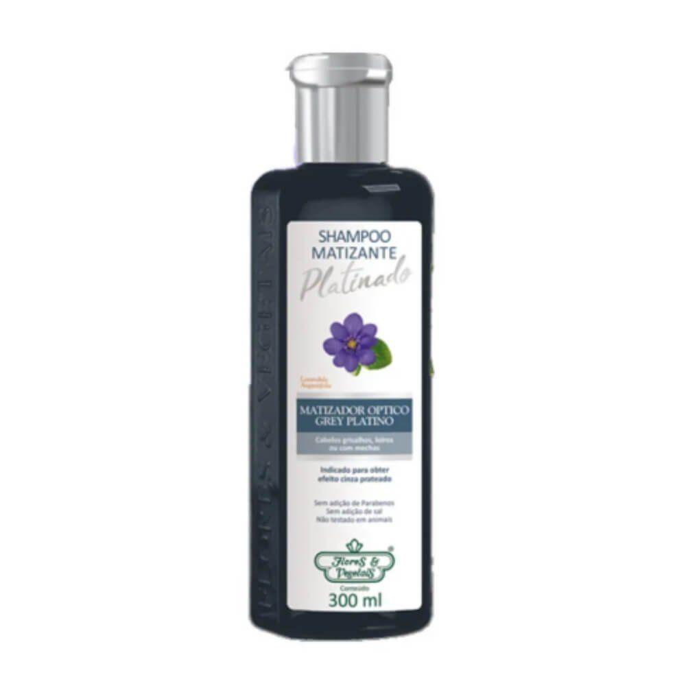 Flores & Vegetais Matizante Platinado Shampoo 300ml