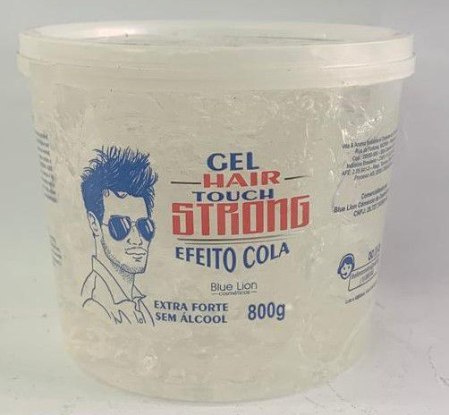 Gel Hair Touch Strong Efeito Cola 800g