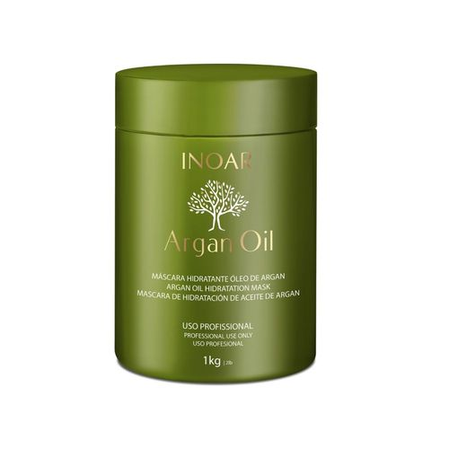 Inoar Argan Oil – Mascara Hidratante 1Kg