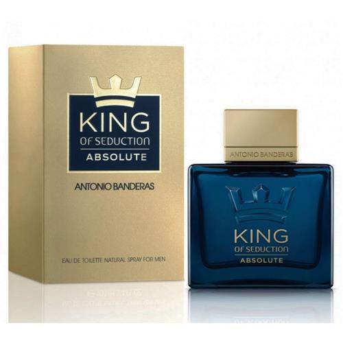 King Of Seduction Absolute Antonio Banderas Perfume Masculino 100ml