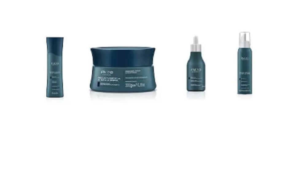 Kit Amend Redensifica e Encorpa Shampoo 250ml + Mascara 300g + Mousse de Volume 140g+ Serum 75ML